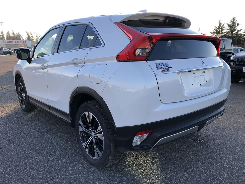 White 2019 Mitsubishi Eclipse Cross ES S-AWC *Back-Up Cam*Bluetooth*Heated Seats* Left Rear Corner Photo in Brandon MB