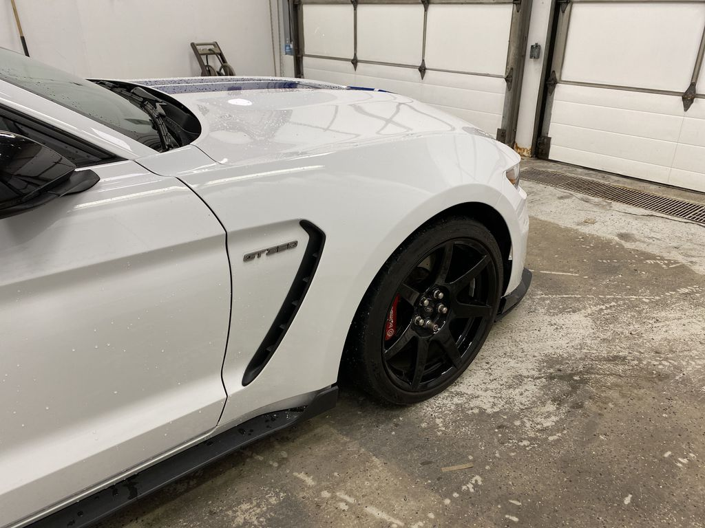 White[Oxford White] 2018 Ford Mustang Right Front Corner Photo in Dartmouth NS