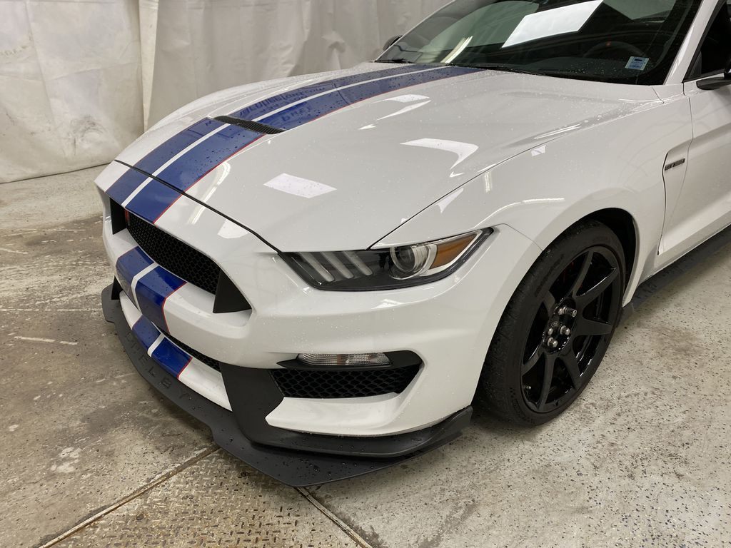White[Oxford White] 2018 Ford Mustang Left Front Corner Photo in Dartmouth NS