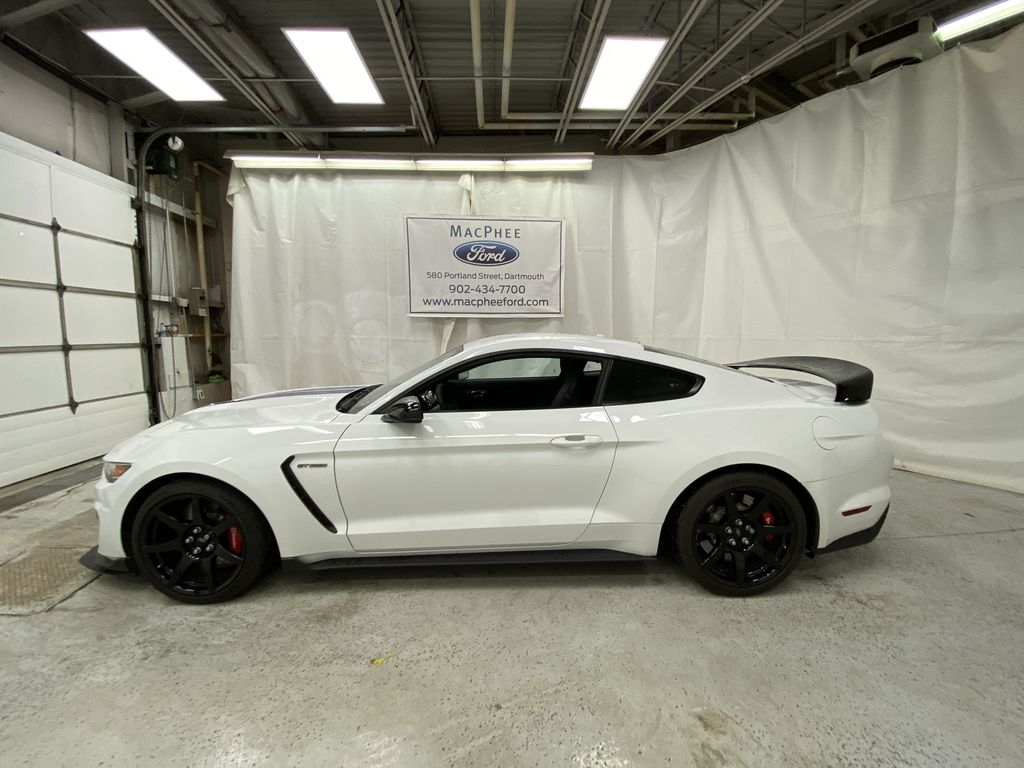 White[Oxford White] 2018 Ford Mustang Left Side Photo in Dartmouth NS