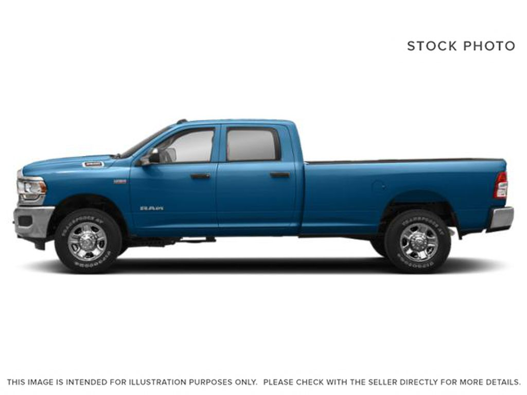 Blue[Hydro Blue Pearl] 2020 Ram 3500 Left Side Photo in Cold Lake AB