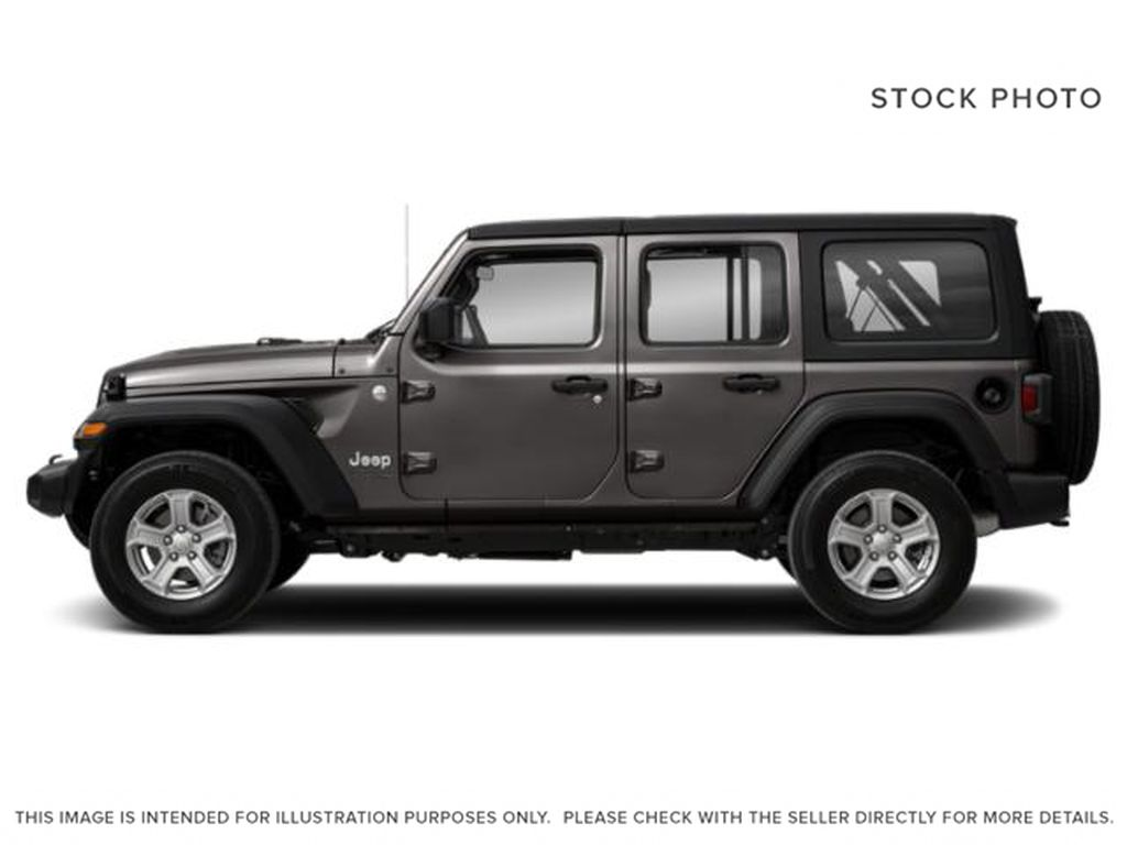 Gray[Granite Crystal Metallic] 2021 Jeep Wrangler Left Side Photo in Cold Lake AB