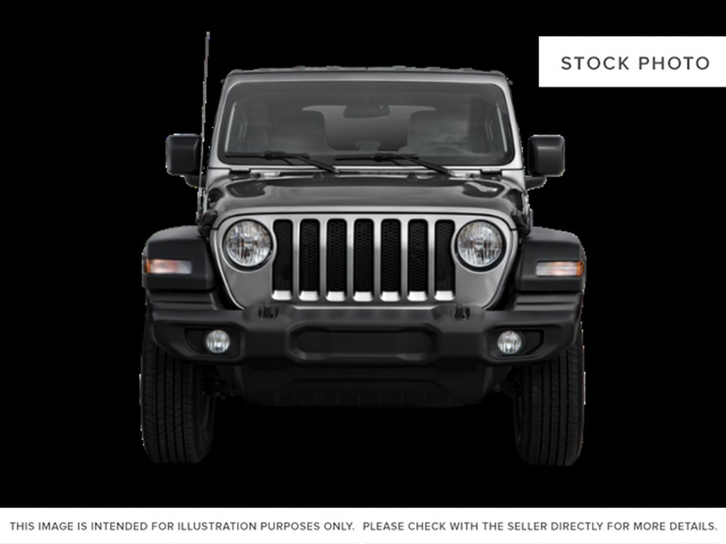Gray[Granite Crystal Metallic] 2021 Jeep Wrangler Front Vehicle Photo in Cold Lake AB