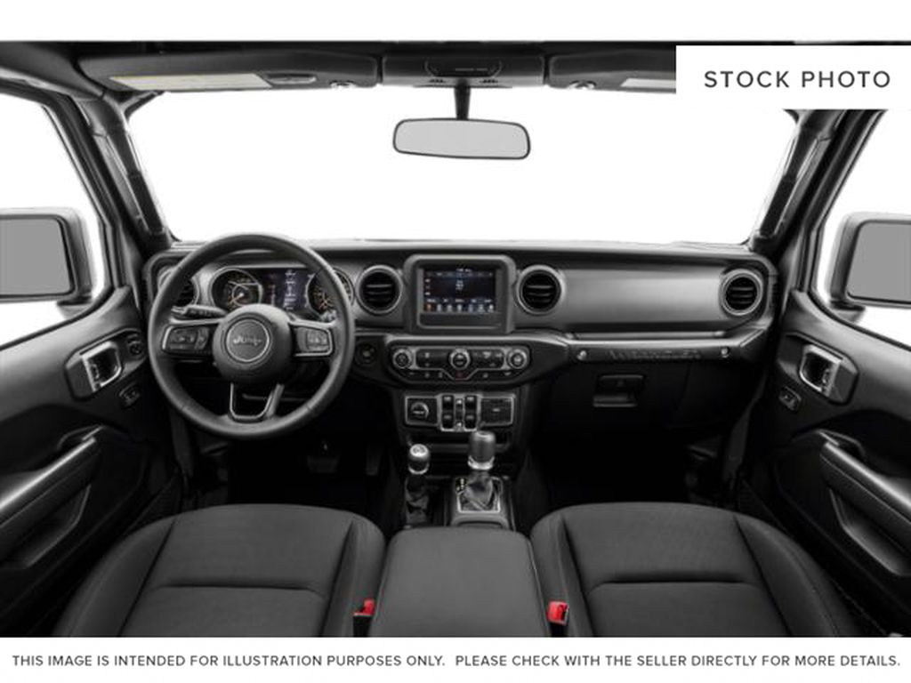 Gray[Granite Crystal Metallic] 2021 Jeep Wrangler Central Dash Options Photo in Cold Lake AB