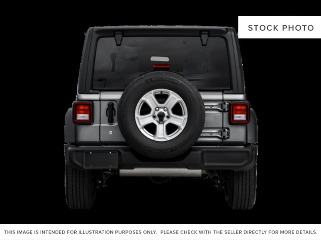 Gray[Granite Crystal Metallic] 2021 Jeep Wrangler Rear of Vehicle Photo in Cold Lake AB