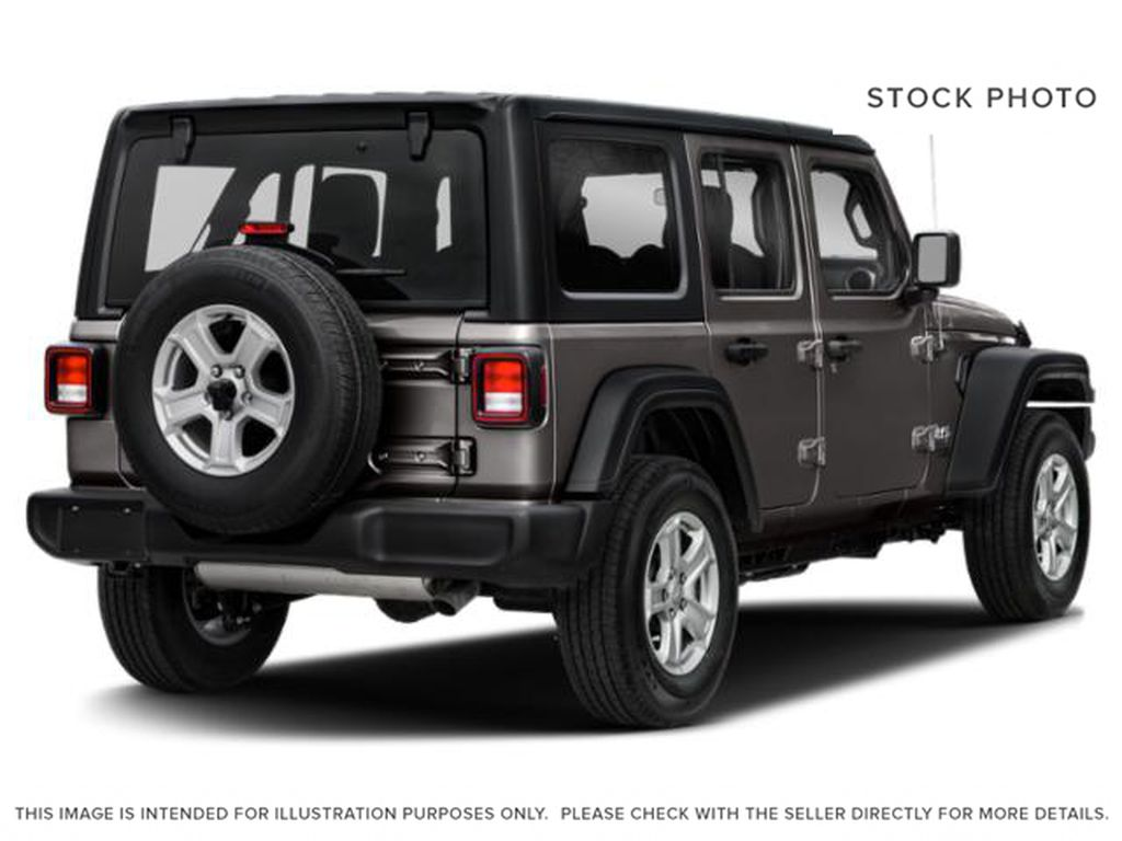 Gray[Granite Crystal Metallic] 2021 Jeep Wrangler Right Rear Corner Photo in Cold Lake AB