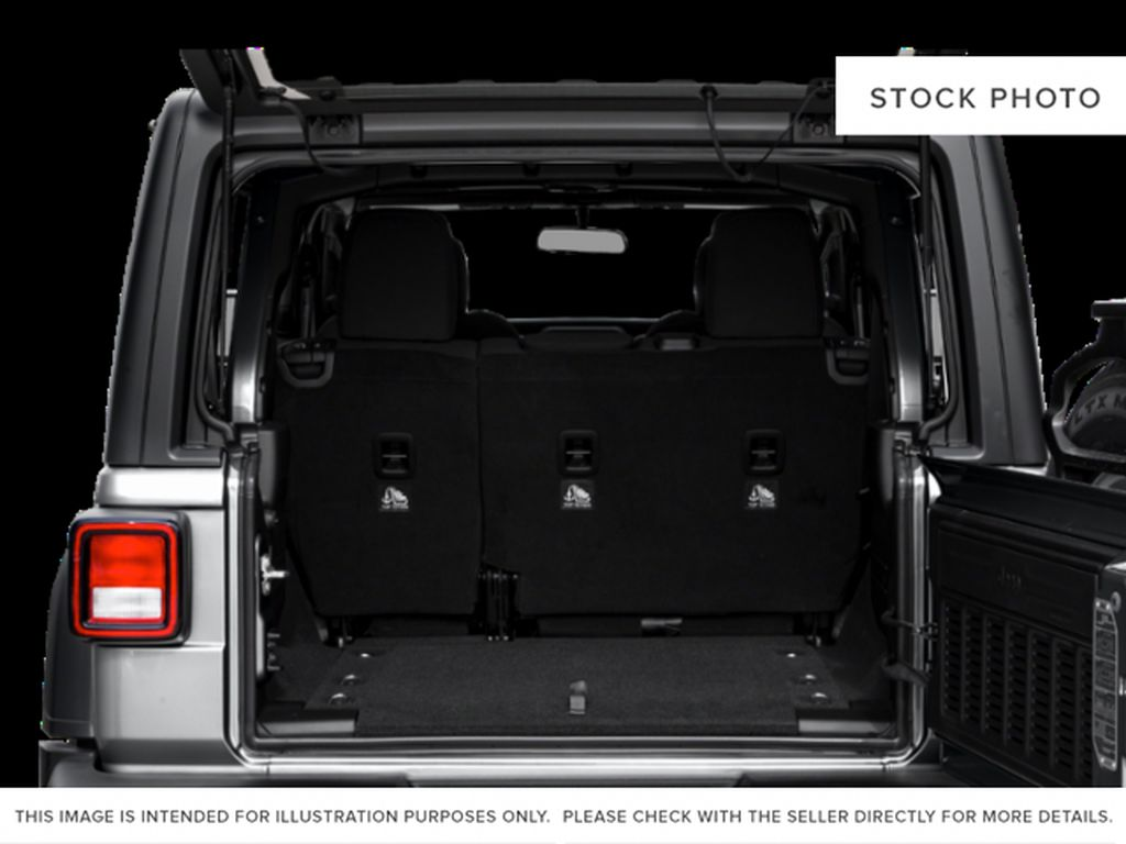 Gray[Granite Crystal Metallic] 2021 Jeep Wrangler Trunk / Cargo Area Photo in Cold Lake AB