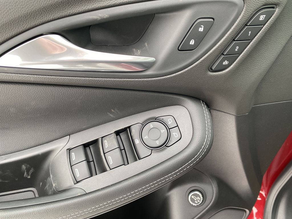 Red[Chili Red Metallic] 2021 Buick Encore GX  Driver's Side Door Controls Photo in Edmonton AB