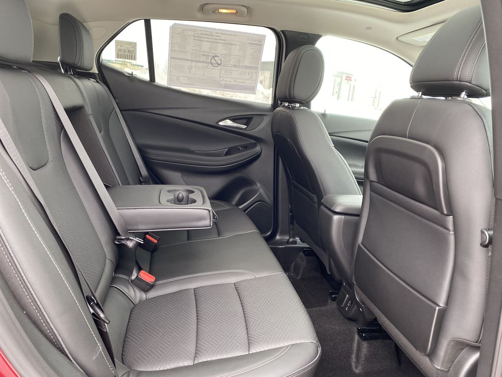 Red[Chili Red Metallic] 2021 Buick Encore GX Right Side Rear Seat  Photo in Edmonton AB