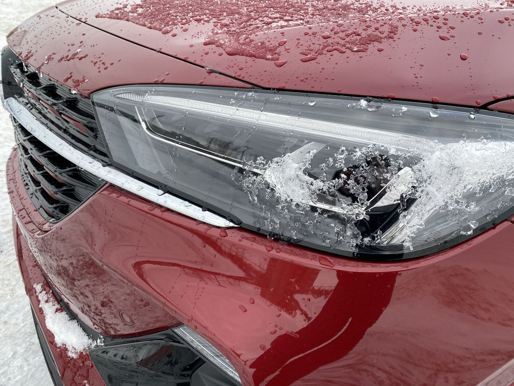 Red[Chili Red Metallic] 2021 Buick Encore GX Left Front Head Light / Bumper and Grill in Edmonton AB