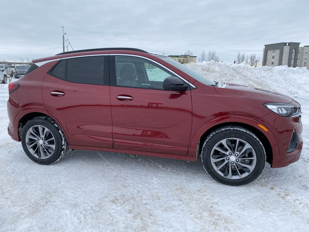 Red[Chili Red Metallic] 2021 Buick Encore GX Right Side Photo in Edmonton AB