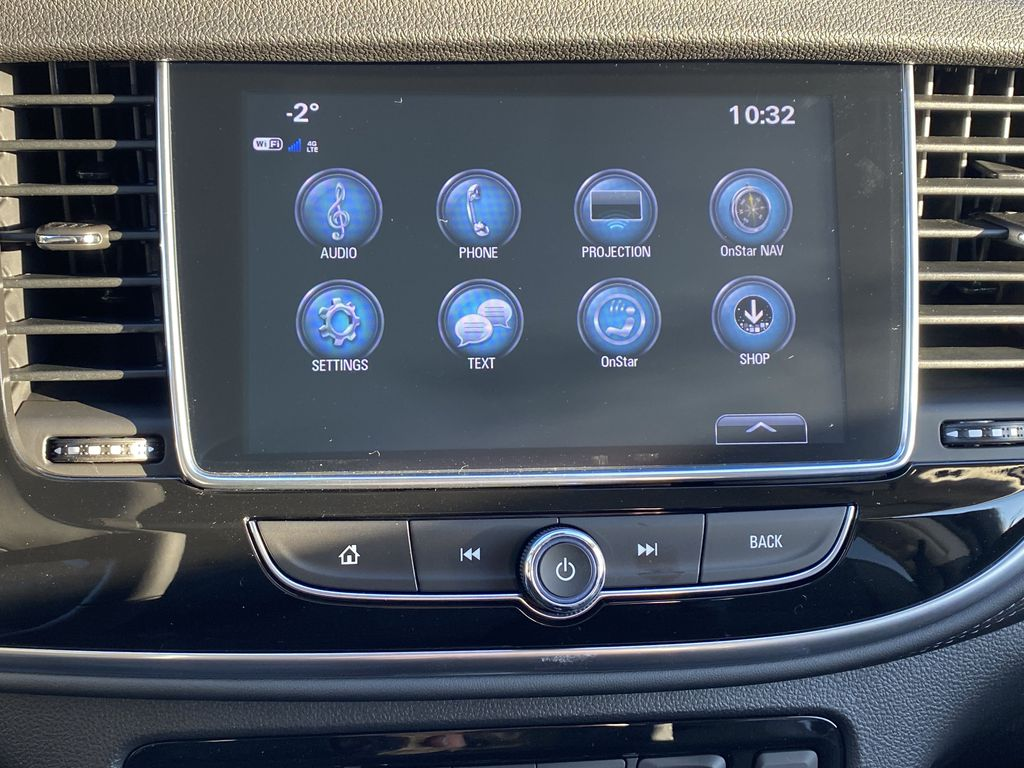 Blue[Dark Moon Blue Metallic] 2021 Buick Encore Central Dash Options Photo in Edmonton AB