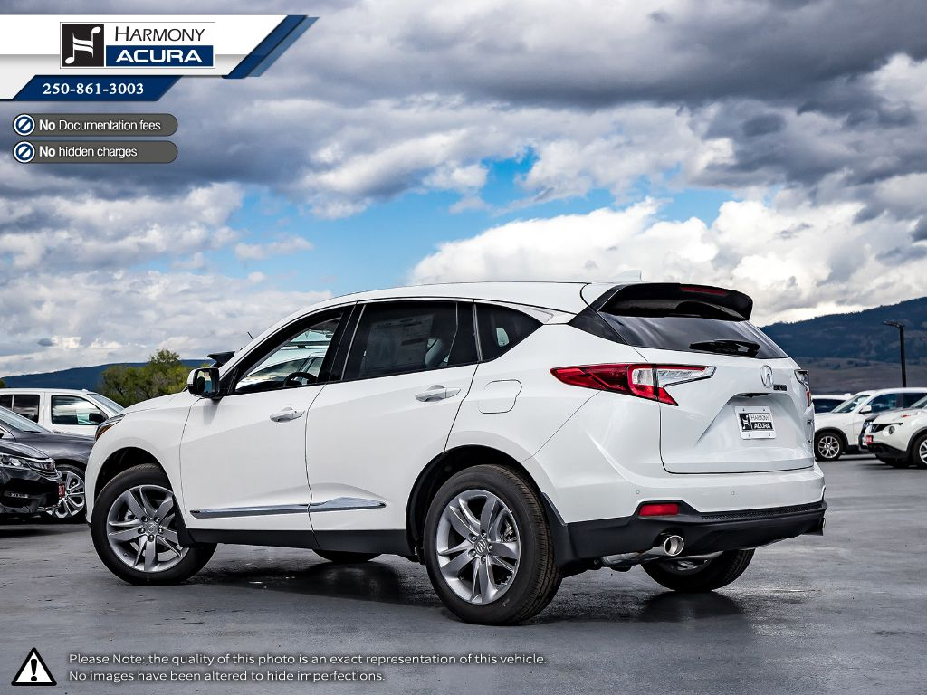 WHITE NH-883PX 2021 Acura RDX Left Side Photo in Kelowna BC