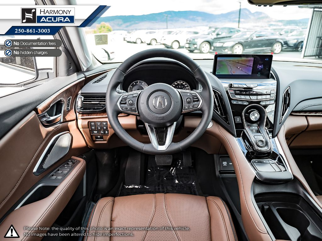 WHITE NH-883PX 2021 Acura RDX Right Front Corner Photo in Kelowna BC