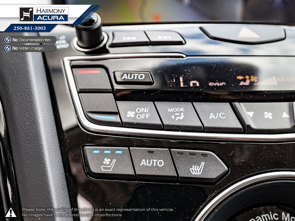 WHITE NH-883PX 2021 Acura RDX Left Driver Controlled Options Photo in Kelowna BC