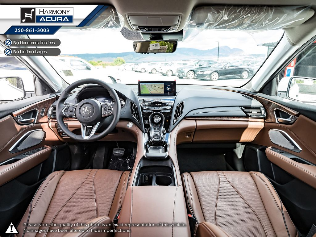 WHITE NH-883PX 2021 Acura RDX Right Side Photo in Kelowna BC