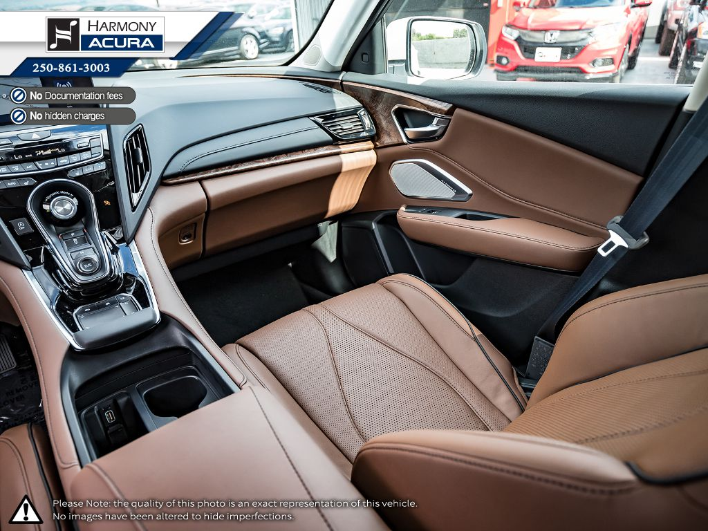 WHITE NH-883PX 2021 Acura RDX Right Side Front Seat  Photo in Kelowna BC