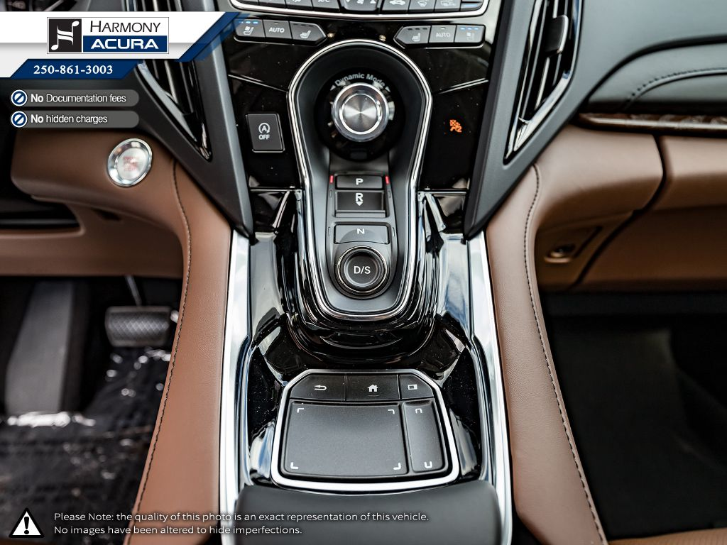 WHITE NH-883PX 2021 Acura RDX Central Dash Options Photo in Kelowna BC