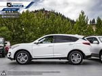 WHITE NH-883PX 2021 Acura RDX Left Side Rear Seat  Photo in Kelowna BC