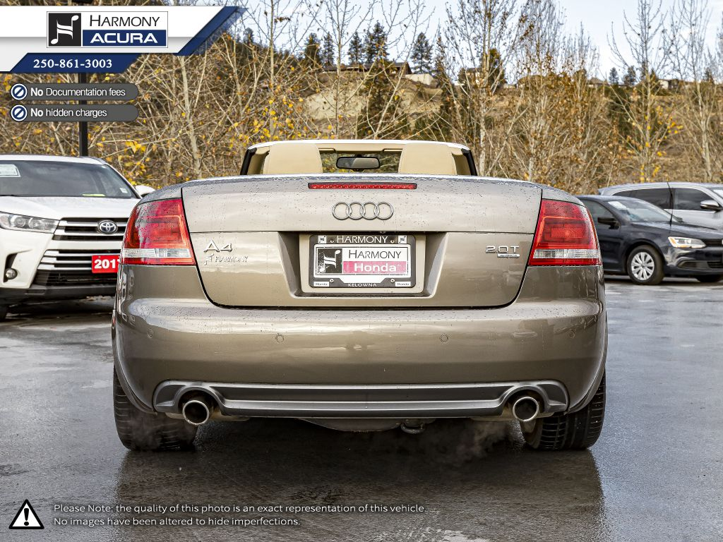 Gold 2009 Audi A4 Left Side Photo in Kelowna BC