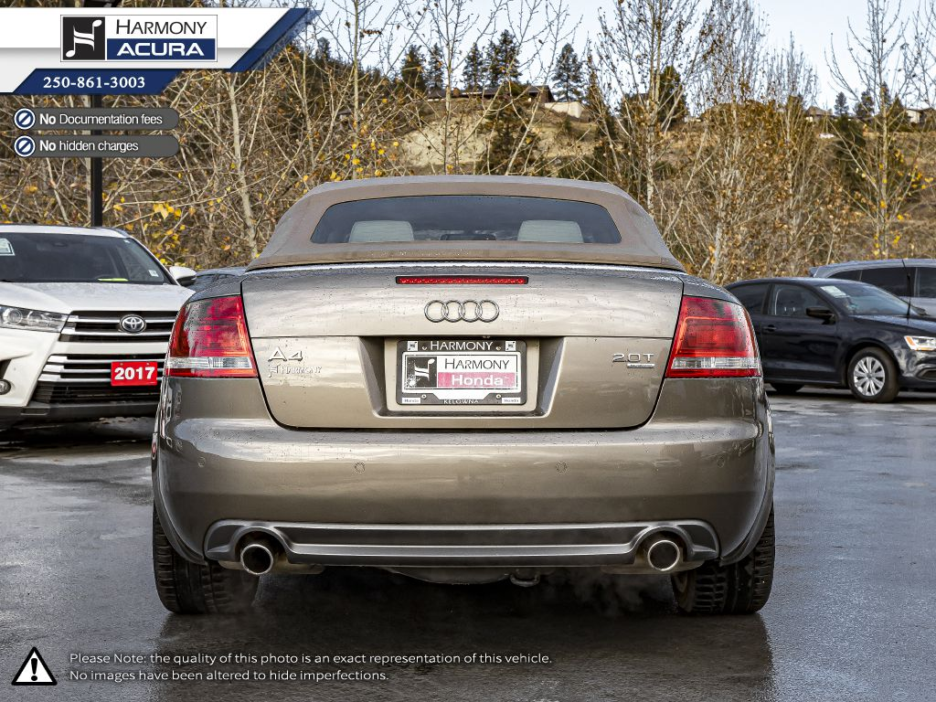 Gold 2009 Audi A4 Left Front Side Body Line Photo in Kelowna BC