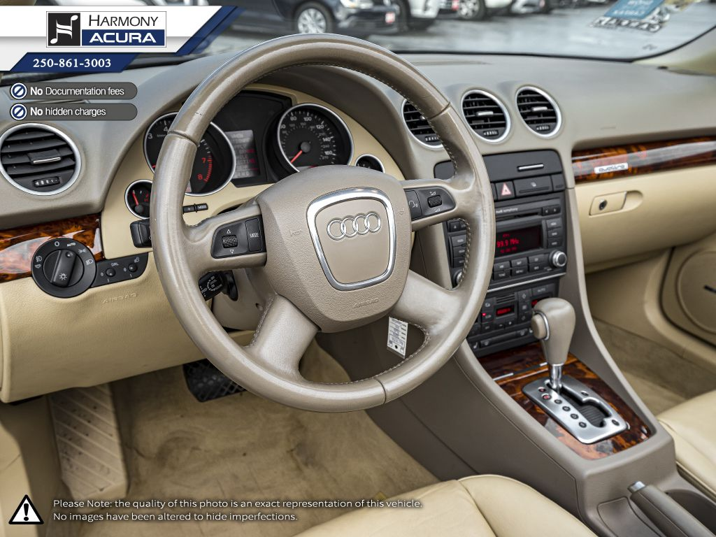 Gold 2009 Audi A4 Right Side Photo in Kelowna BC