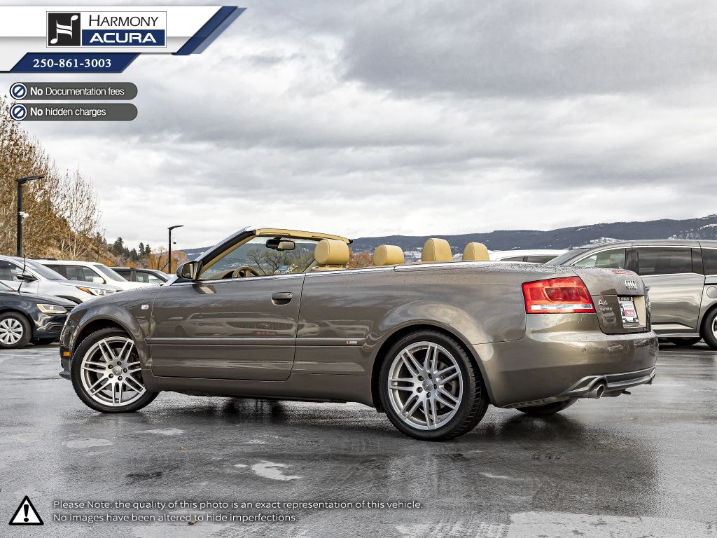 Gold 2009 Audi A4 Left Side Rear Seat  Photo in Kelowna BC