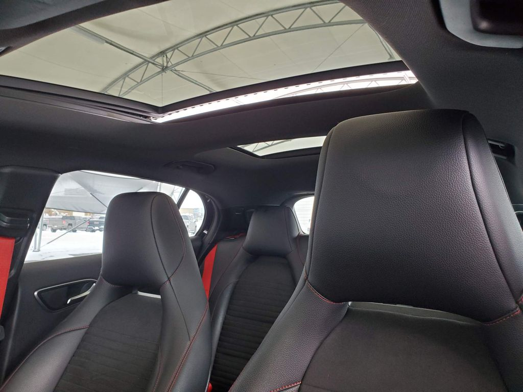 Black 2016 Mercedes-Benz GLA Driver's Side Door Controls Photo in Airdrie AB