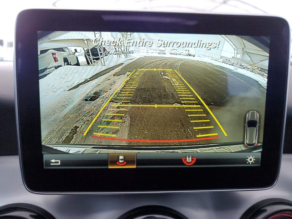 Black 2016 Mercedes-Benz GLA Left Side Rear Seat  Photo in Airdrie AB