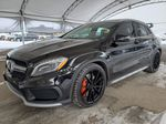 Black 2016 Mercedes-Benz GLA Apple Carplay/Android Auto Photo in Airdrie AB