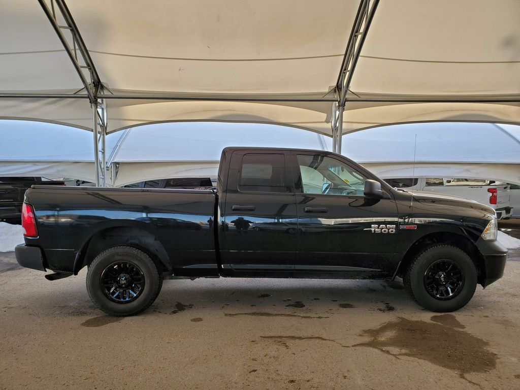 Dark Green 2016 Ram 1500 Rear of Vehicle Photo in Airdrie AB