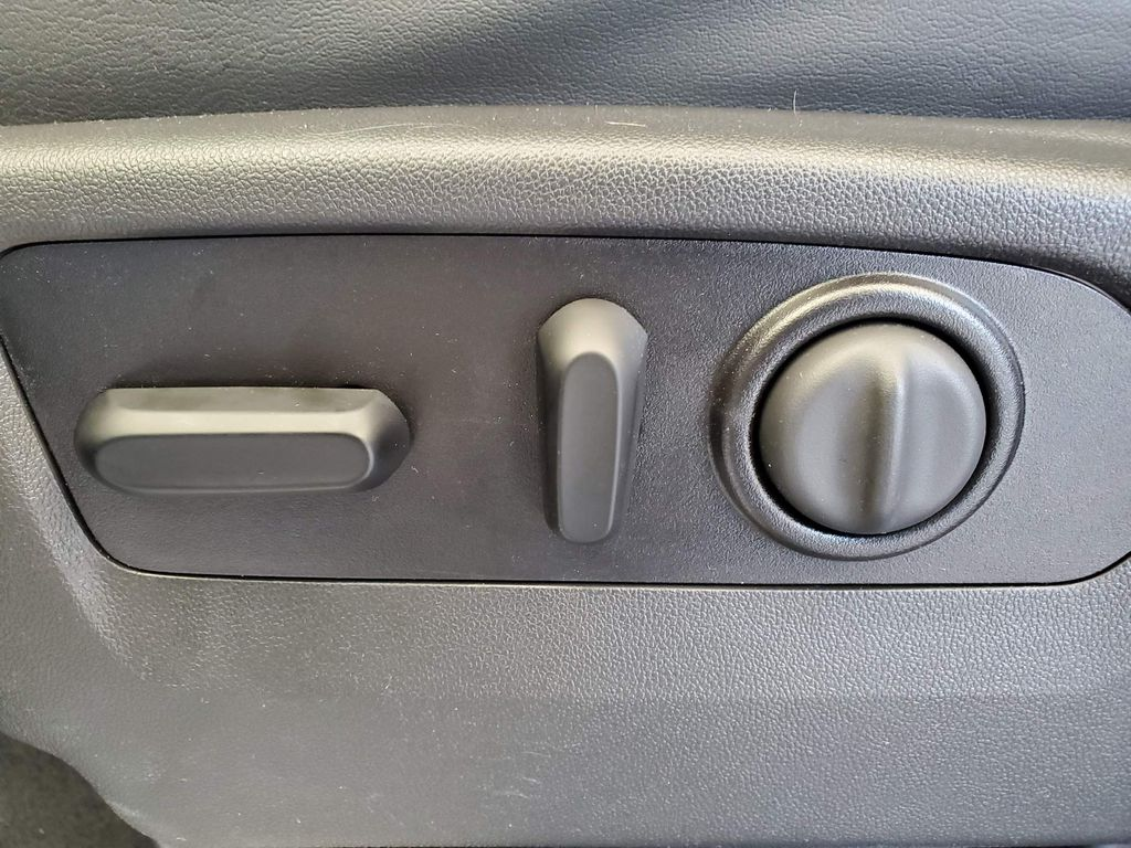 Blue 2021 Chevrolet Silverado 2500HD Driver's Side Door Controls Photo in Airdrie AB
