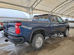 Blue 2021 Chevrolet Silverado 2500HD Passenger Front Door Controls Photo in Airdrie AB