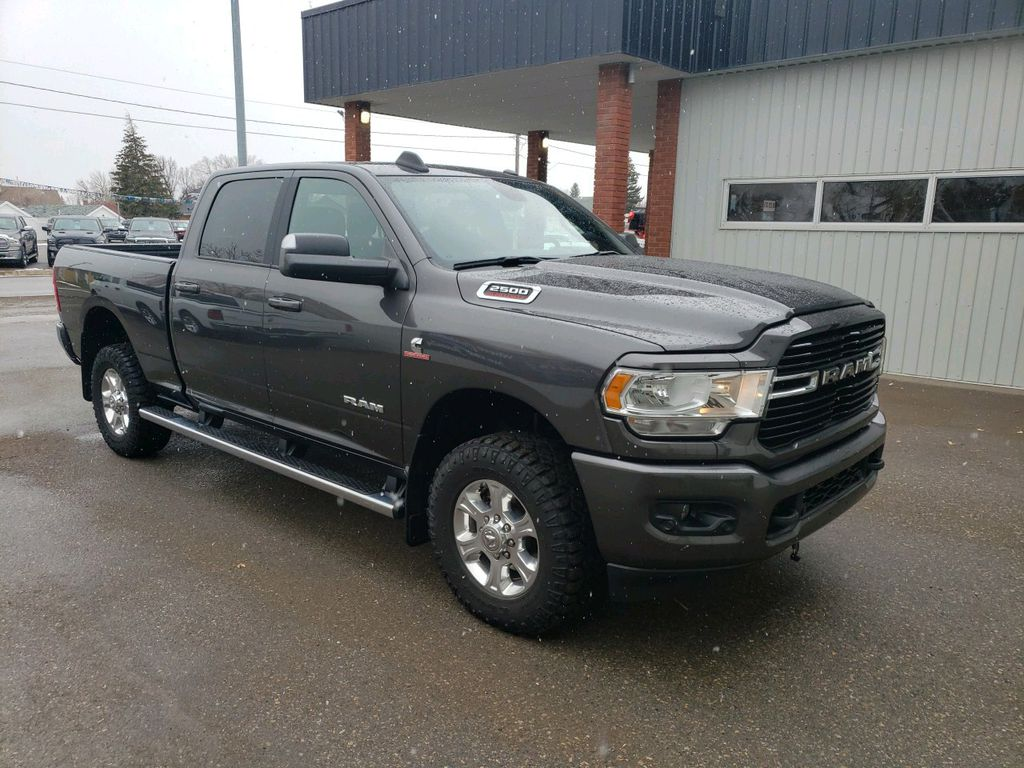 Grey 2019 Ram 2500 Left Front Rim and Tire Photo in Fort Macleod AB