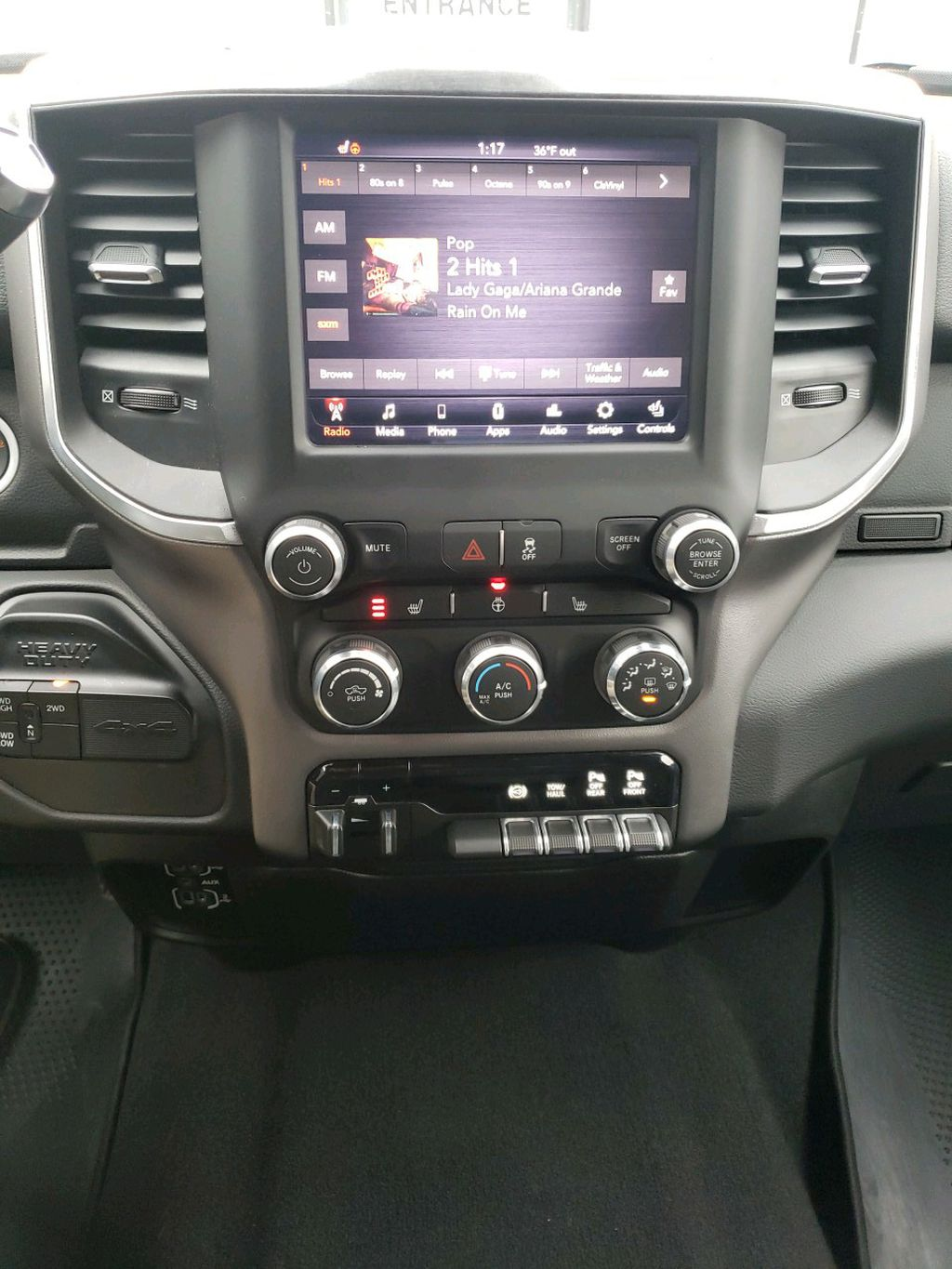 Grey 2019 Ram 2500 Left Front Head Light / Bumper and Grill in Fort Macleod AB