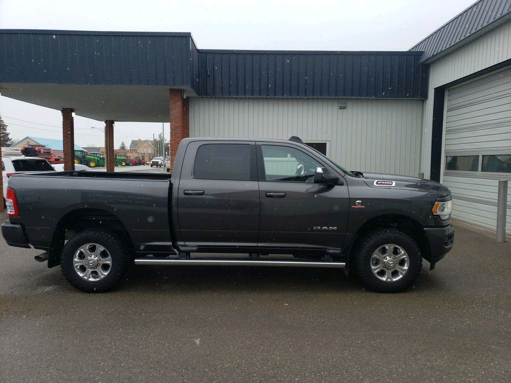 Grey 2019 Ram 2500 Left Front Interior Photo in Fort Macleod AB