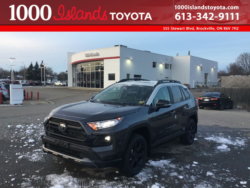 Gray[Magnetic Grey Metallic w/Ice Edge Roof] 2021 Toyota RAV4