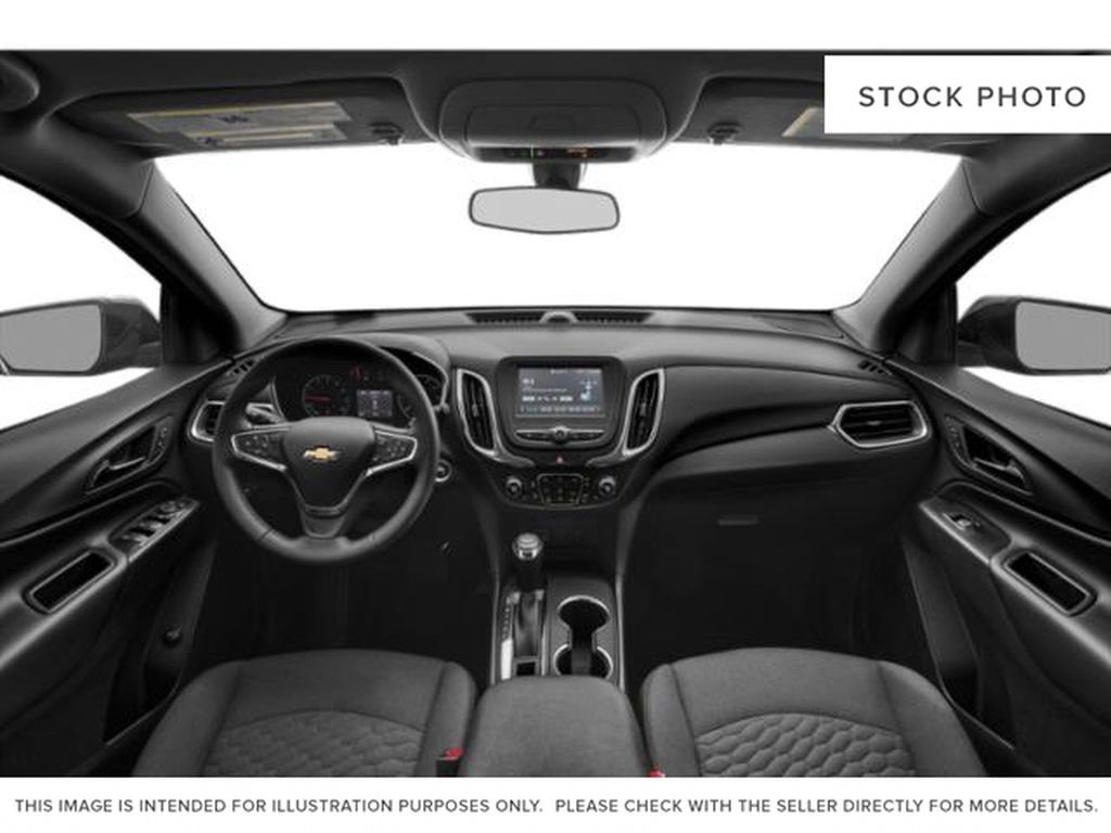 Black[Mosaic Black Metallic] 2020 Chevrolet Equinox Front Seats and Dash Photo in Portage La Prairie MB