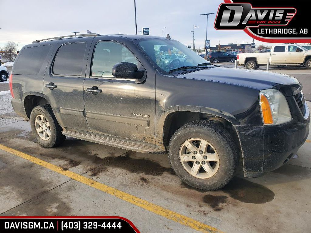 Black 2010 GMC Yukon