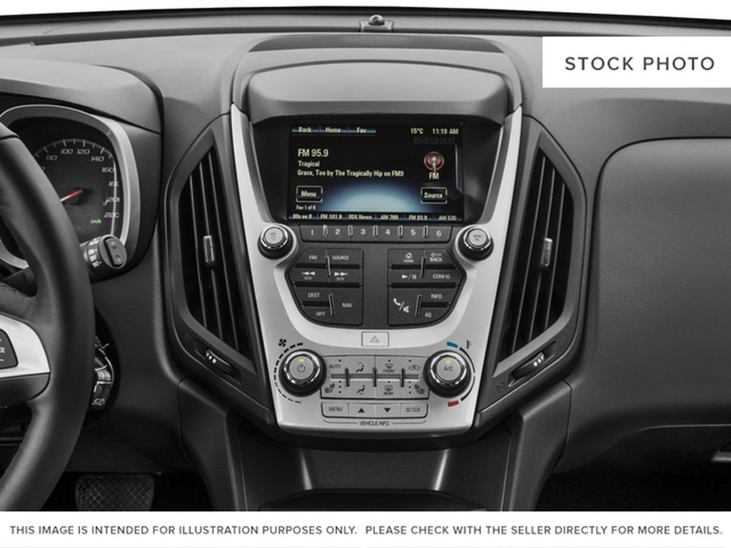 2017 Chevrolet Equinox Radio Controls Closeup Photo in Barrhead AB