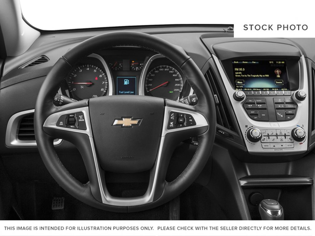 2017 Chevrolet Equinox Steering Wheel and Dash Photo in Barrhead AB