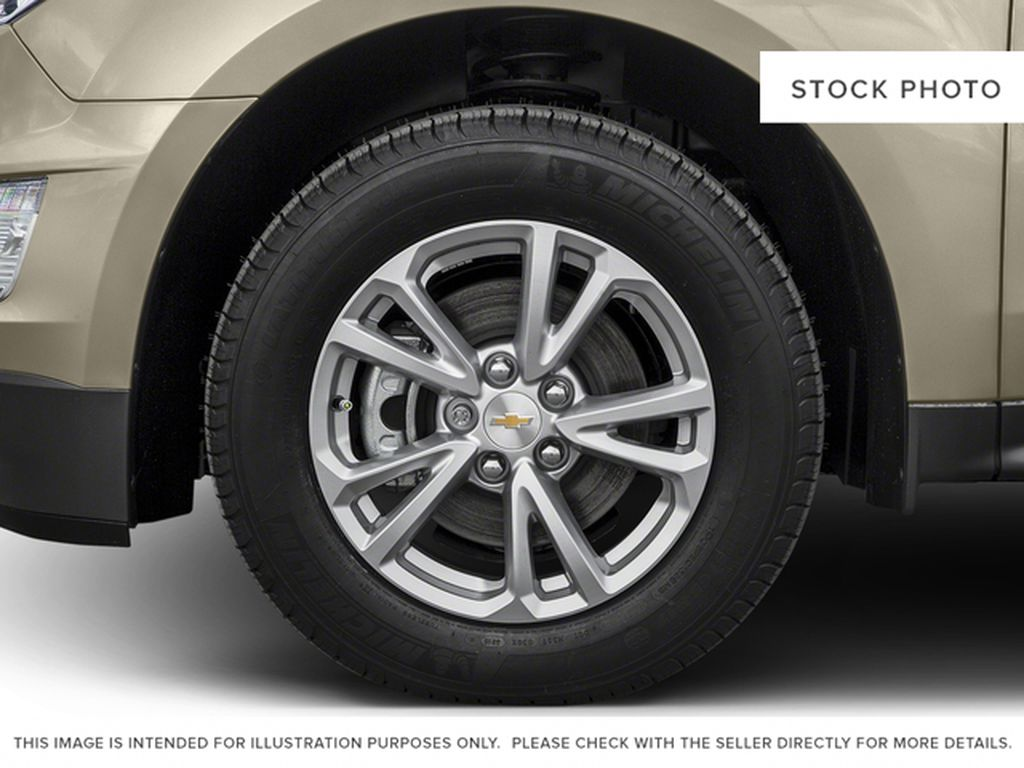 2017 Chevrolet Equinox Left Front Rim and Tire Photo in Barrhead AB