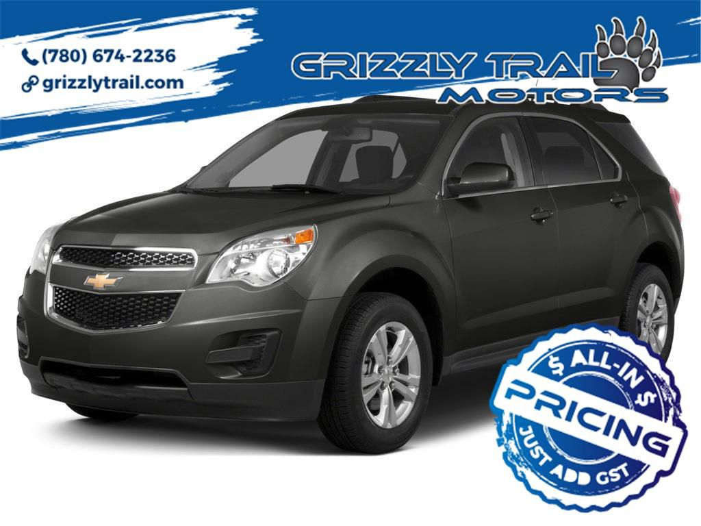 Grey 2015 Chevrolet Equinox
