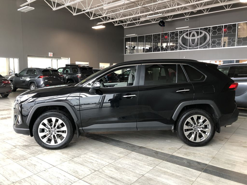 Black 2019 Toyota RAV4 Limited | Toyota Certified Left Side Photo in Edmonton AB