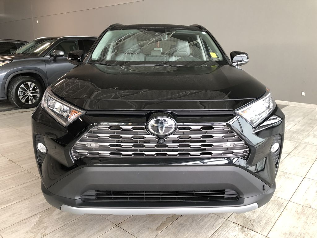 Black 2019 Toyota RAV4 Limited | Toyota Certified Odometer Photo in Edmonton AB