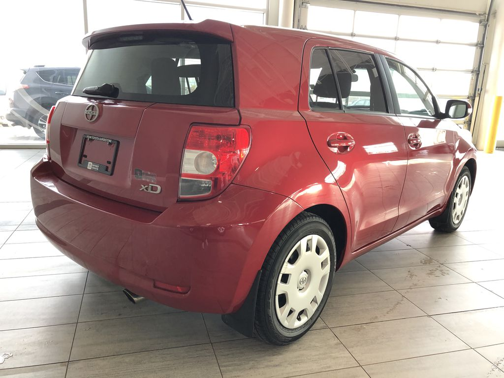 Red 2011 Scion xD 5DR HB MAN Rear of Vehicle Photo in Edmonton AB