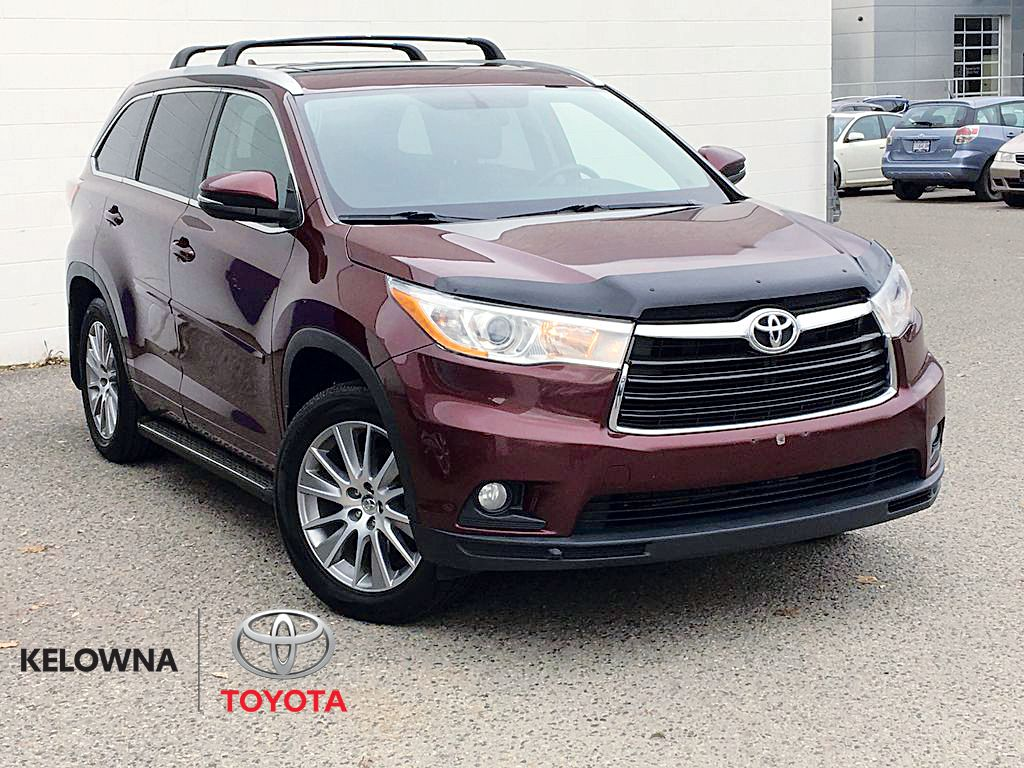 Red[Moulin Rouge Mica] 2014 Toyota Highlander XLE