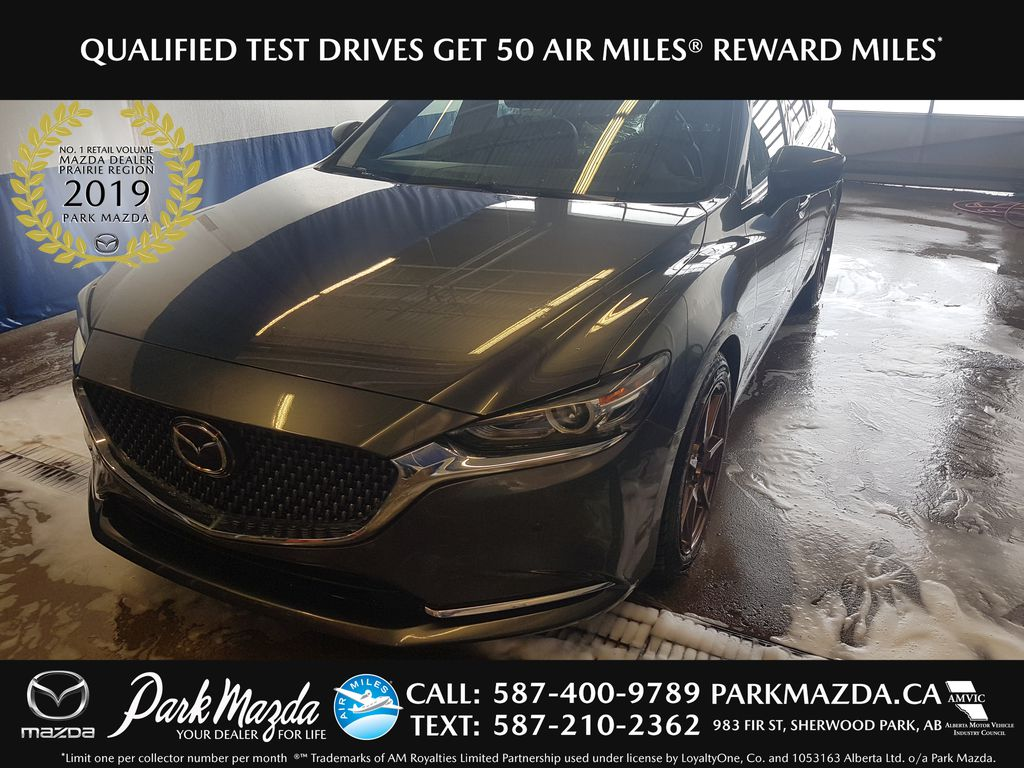 GREY 2018 Mazda Mazda6 Signature -  Bluetooth, 360 Cam, NAV, Heated/Vented Front Seats