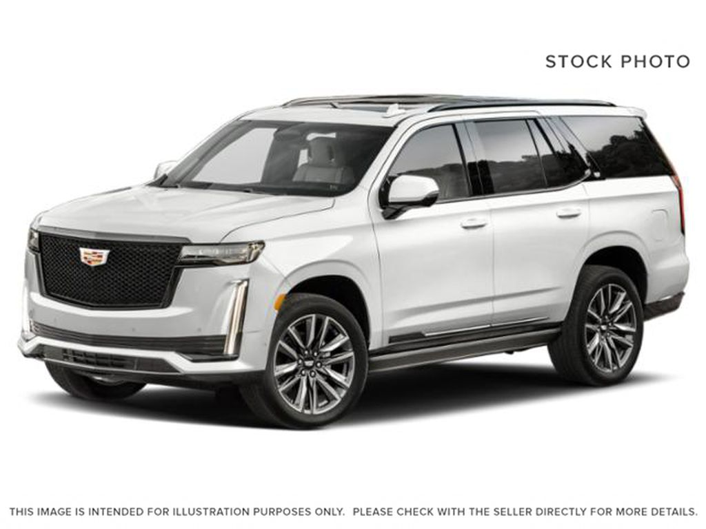 White[Crystal White Tricoat] 2021 Cadillac Escalade
