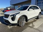 White[Crystal White Tricoat] 2021 Cadillac XT4 Premium Luxury Left Front Head Light / Bumper and Grill in Calgary AB
